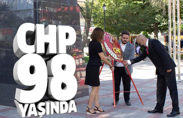 CHP 98 Yaşında