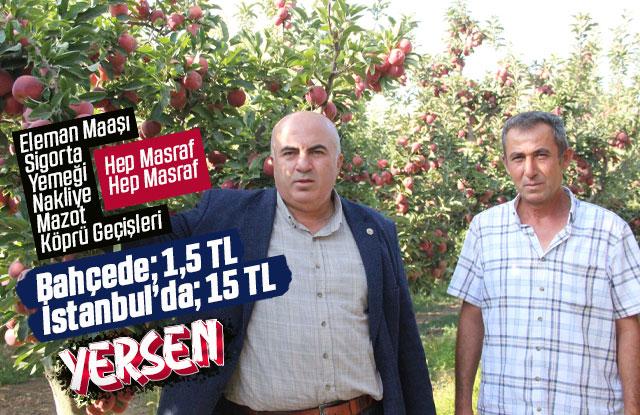 Elma Fiyatı 10 kat artıyor