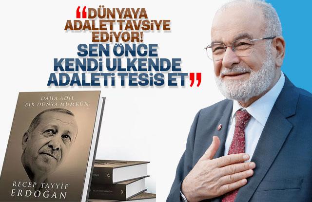 Temel Karamollaoğlu'ndan Erdoğan'ın kitabına tepki