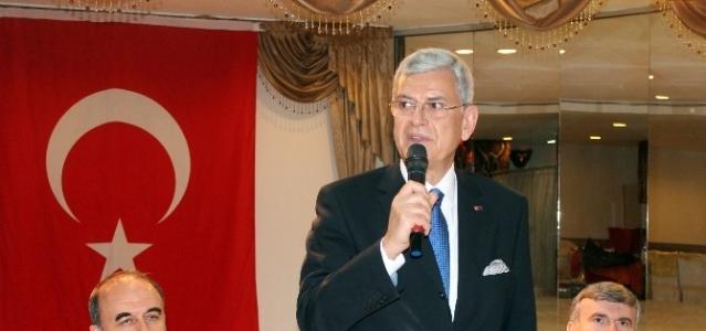 AB Bakanı Volkan Bozkır Konya'da
