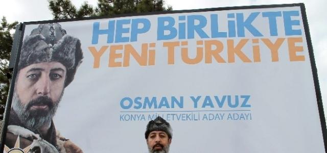 AK Partili Aday Adayından İlginç Afiş
