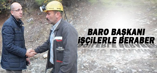 Baro Başkanı Avukat Oktay Yılmaz Ermenek'te