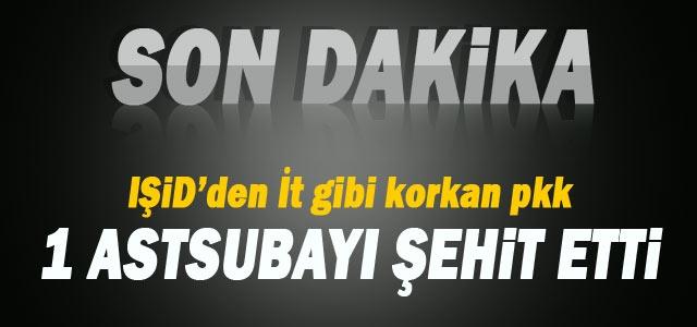 Diyarbakır'da astsubaya silahlı saldırı İZLE