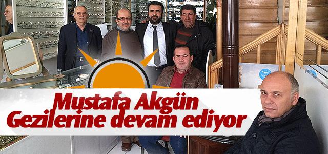 Dr. Mustafa Akgün Halkla Kucaklaşmaya devam ediyor