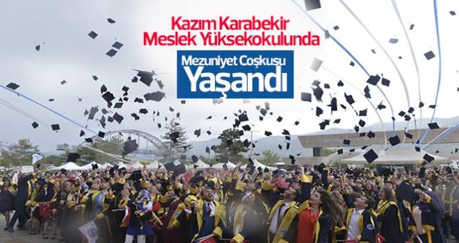 Kazım Karabekir Meslek Yüksekokulunda mezuniyet töreni