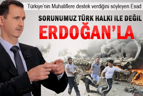Esad: Ölümlerden Türk hükümeti de sorumlu