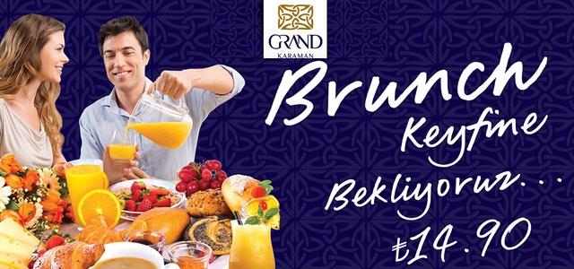 Grand Otel 23 Nisan'a özel brunch keyfi düzenliyor