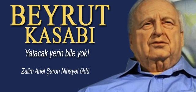 İsrailʹin eski Başbakanı Ariel Şaron öldü
