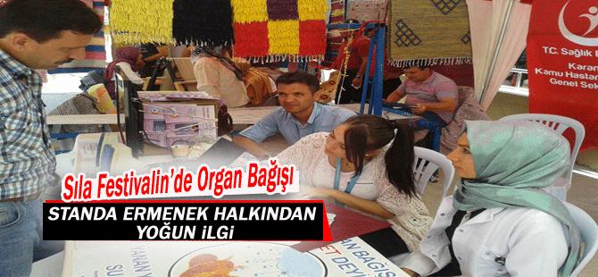Festival'de Organ Bağışı Standı…