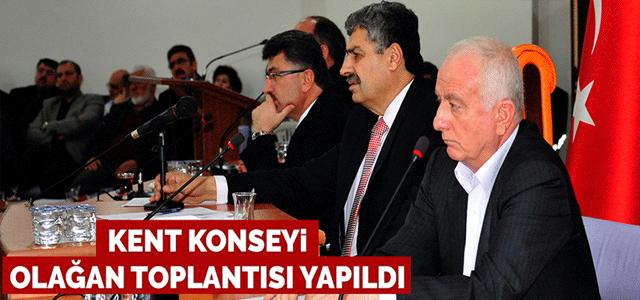 Kent Konseyi Olağan Toplantısı Yapıldı