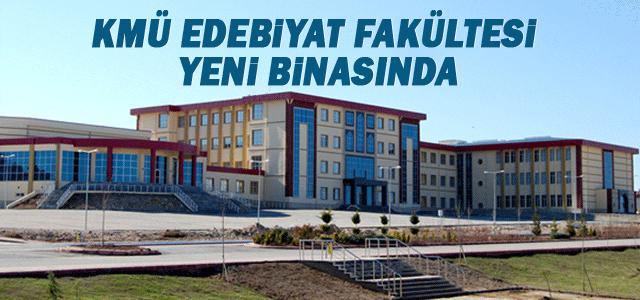Kmü Edebiyat Fakültesi Yeni Binasında