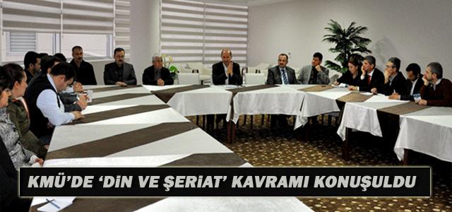 Kmü'de 'Düşünceler Ve Kavramlar' Seminerinin İkincisi Düzenlendi