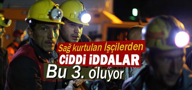 Maden işçileri anlattı: Bu üçüncü su baskını