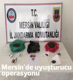 Mersinde Uyuşturucu Operasyonu