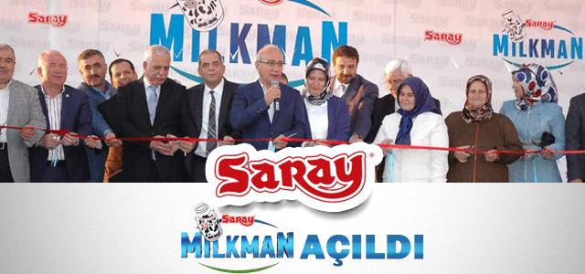 Milkman Süt Ve Süt Ürünleri Tesislerini Bakan Elvan Açtı