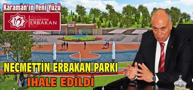 Necmettin Erbakan Parkı İhale Edildi