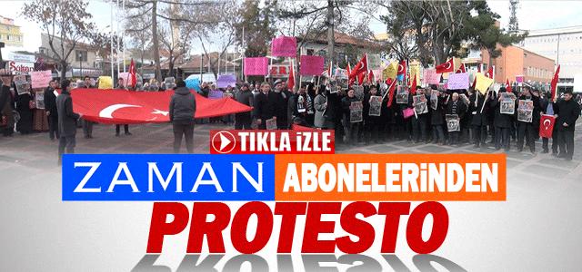 Paralel Yapı operasyonu Karaman'da protesto edildi