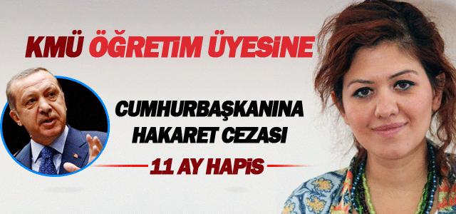 Yrd. Doç. Dr. Elifhan Köse'ye 11 ay hapis cezası
