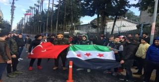 Mersindeki Suriyeliler Afrinde Savaşmak İçin Gönüllü Oldular