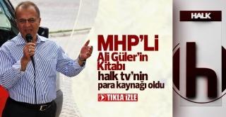 Ali Güler'in Kitabı Halk Tv para kaynağı oldu.