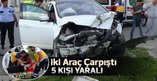 Karaman'da trafik kazası: 5 yaralı