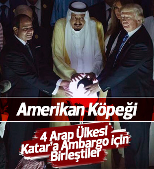 4 Arap Ülkesi Katar'la İlişkisini kesti