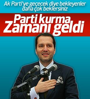 Fatih Erbakan'dan yeni parti açıklaması