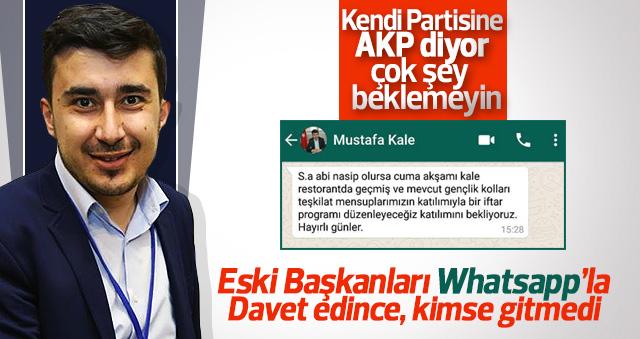 Eski Başkanlardan Mustafa Kale'ye tepki