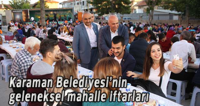 İFTAR SOFRASI ÇELTEK MAHALLESİ'NE KURULDU