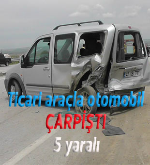 Feci kazada 5 yaralı