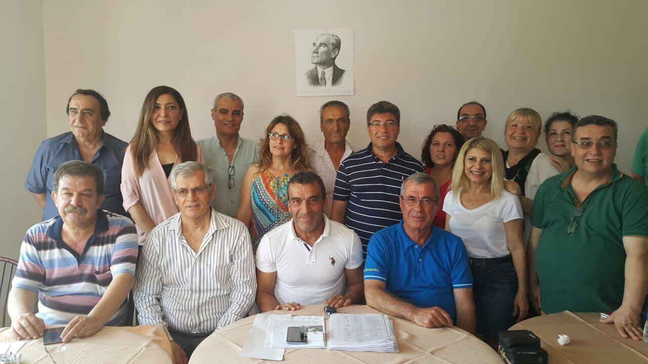 Mersin Atatürk Liseliler Derneği, yönetimini belirledi