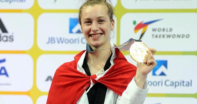 Dünya Tekvando Şampiyonu Selçuk'tan