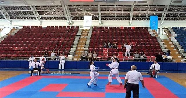 Mersin'de karate il birinciliği sona erdi