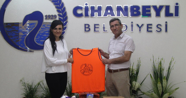 """Cihanbeyli'de """"Atık Pil Toplama"""" yarışmasının ödülleri verildi"""