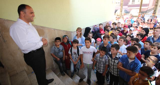 Başkan Özaltun, Genç KOMEK Yaz Okulu öğrencileriyle buluştu