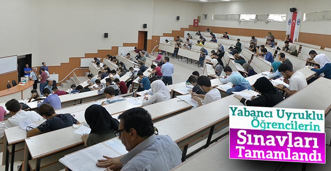 Yabancı Uyruklu Öğrencilerin Sınavları Tamamlandı