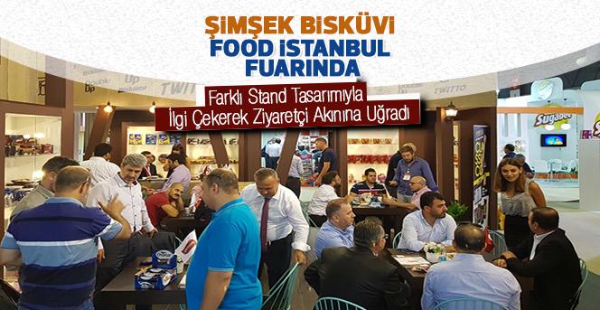 Şimşek Bisküvi FOOD İSTANBUL Fuarına Katıldı