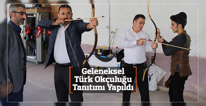 Karaman'da Geleneksel Türk Okçuluğu Tanıtımı Yapıldı