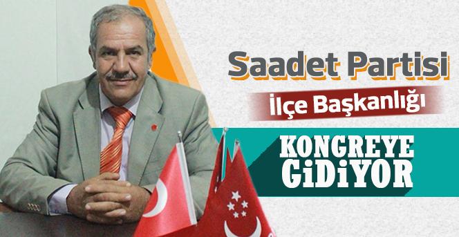 Saadet Partisi Karaman Merkez İlçe Başkanlığı Seçime Gidiyor