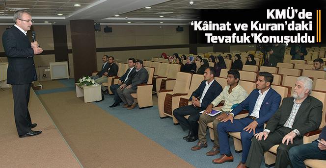 KMÜ'de 'Kuran'daki Tevafuk' Konuşuldu