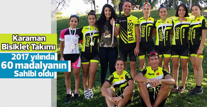 Karaman Bisiklet Takımı Madalya Sayısını 60'a Yükseltti