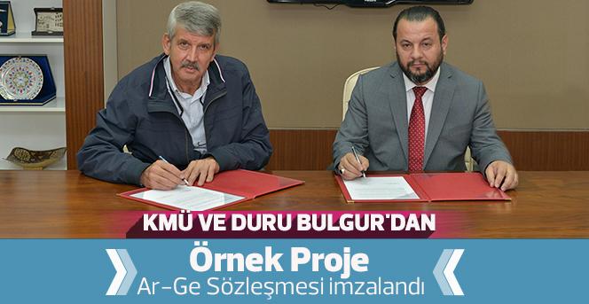KMÜ Ve Duru Bulgur'dan  Örnek Proje