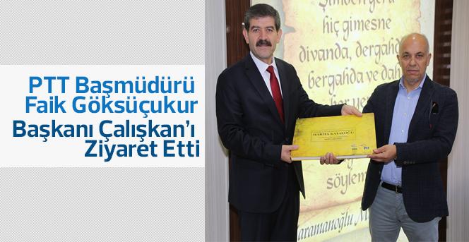 PTT'den Başkan Çalışkan'a Ziyaret