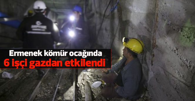 Karaman'da kömür ocağında 6 işçi gazdan etkilendi
