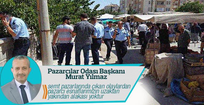 Pazarcılar Odası Başkanı Murat Yılmaz In Basın Açıklaması