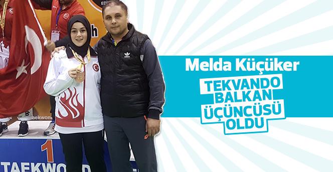 Karamanlı Sporcu Tekvando'da Balkan Üçüncüsü Oldu
