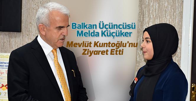 Balkan Üçüncüsünden Kuntoğlu'na Ziyaret