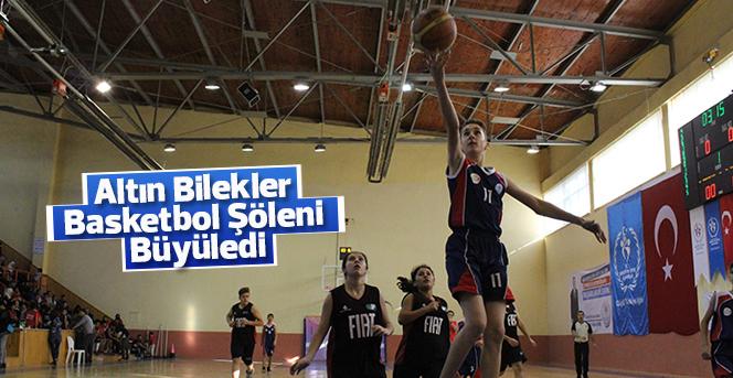 Altın Bilekler Basketbol Şöleni Büyüledi