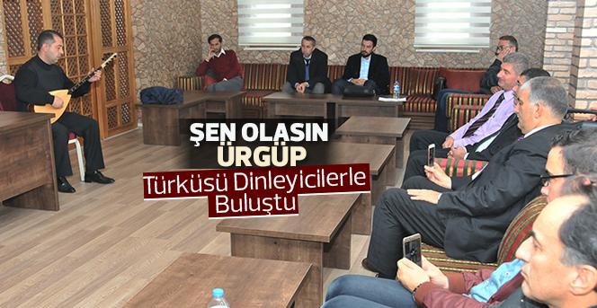 'Şen Olasın Ürgüp' Türküsü Dinleyicilerle Buluştu