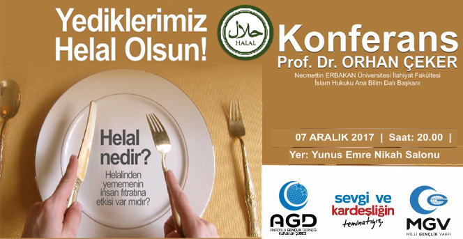 Karaman Anadolu Gençlik Derneğinden Konferans